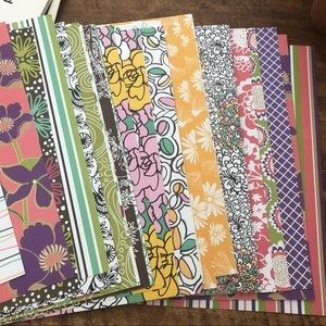 Set of Scrapbooking Paper | Patterned Paper Art
